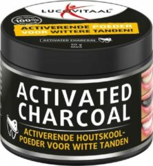3x Lucovitaal Tandpoeder Activated Charcoal 50 gram