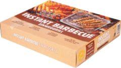Zilveren Barbecook 2 stuks Instant Grill Houtskoolbarbecue - Complete set - 32x26x6 cm