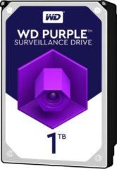 Zilveren Western Digital WD Purple - Interne harde schijf - 1 TB
