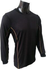 KWD Shirt Diablo lange mouw - Zwart - Maat 140