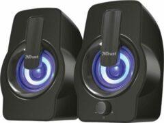 Trust Gemi RGB 2.0 Speaker Set - black PC speaker Zwart