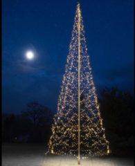 Fairybell Vlaggenmastboom Kerstverlichting - 10 m - 4000 warmwitte LEDs