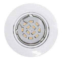 EGLO Peneto - Inbouwspotje - LED - Ø87mm. - Wit - Richtbaar