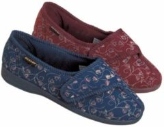 Rode Able2 - Ergovita Pantoffels BlueBell - Burgundy, vrouw maat 37