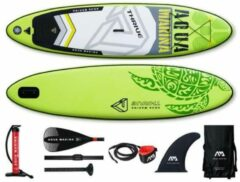 Groene Aqua Marina Thrive - SUP Board - Opblaasbaar Supboard - Inflatable