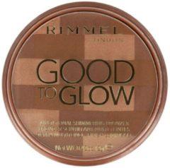 Bruine Rimmel London London Good to Glow Shimmering Bronzer 003 Dark