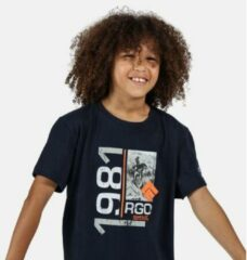 Marineblauwe Regatta Childrens/Kids Bosley III Printed T-Shirt
