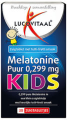 Lucovitaal Melatonine Puur Kids 0,299 milligram Voedingssupplement - 30 tabletten
