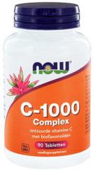 Now Foods NOW vitamine C-1000 Complex SR Gebufferde C 90 tabs