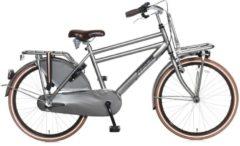 24 Zoll Jungen Holland Fahrrad 3 Gang Popal Daily Dutch Basic+ 2488N3 Popal titanium