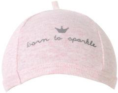 Roze BamBam Born To Sparkle Mutsje 0-3 Mnd