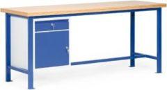 Protaurus TAUROTEC Standard-Werkbank mit 1 Schrank, 200 × 70 cm
