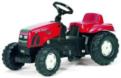 Rode Rolly Toys traptractor RollyKid Zetor Forterra 135 junior rood