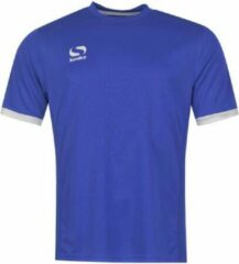 Blauwe Sondico Voetbalshirt korte mouw - Heren - Royal/White - L