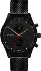 Zwarte MVMT herenhorloge met mesh band 28000052-D