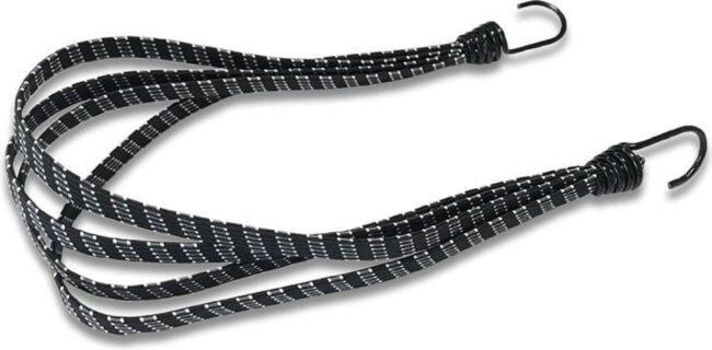 Afbeelding van Lynx Snelbinder Met Haak 26/28 Inch 60 Cm Zwart/wit
