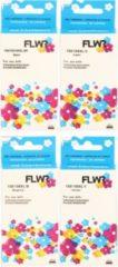 Cyane FLWR - Inktcartridges / 100XL / 4-pack / Zwart en Kleur - Geschikt voor Lexmark