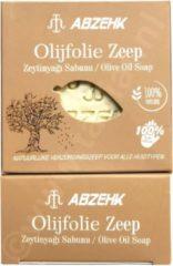 Abzehk Olive Oil Soap. 100% Handmade en Natural. Inhoud 150gr + 10gr EXTRA