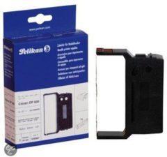 Merkloos / Sans marque Printerlint Pelikan Citizen DP600 Zwart-Rood