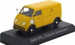 "DKW F89L 1952 ""Deutsche Bundespost"" Geel 1-43 Norev"