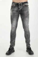 Donkergrijze Marshall Denim Jeans heren 2199/29 MarshallDenim