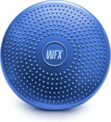 #DoYourFitness - Balanskussen incl pomp - »BlowUp« - balanskussen ideaal voor fitness, pilates, fysiotherapie en rug training - Ø 33 cm. - blauw