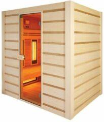 Maison Home Maison's Hybride Sauna - Sauna - Infrarood Sauna - 4 persoons - 190x180x140cm