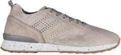 Grigio Hogan Rebel Scarpe sneakers uomo camoscio running r261