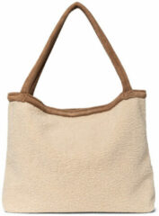 Studio Noos Shoppers Teddy Lammy Mom Bag Beige