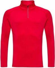 Rossignol Classique 1/2 Zip heren ski pulli rood