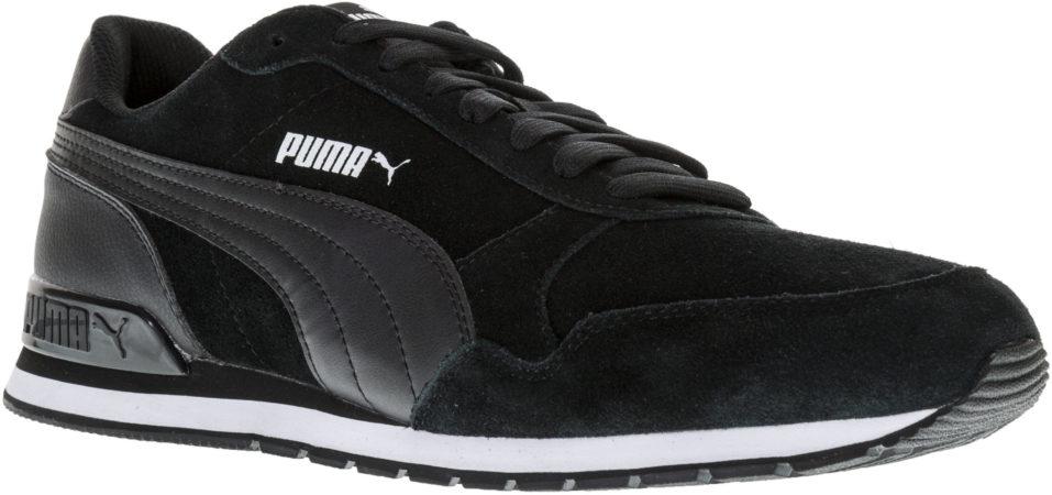 Afbeelding van Zwarte PUMA ST Runner v2 SD Sneakers Unisex - Puma Black-Puma Black - Maat 44