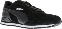 Zwarte PUMA ST Runner v2 SD Sneakers Unisex - Puma Black-Puma Black - Maat 44