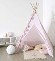 Roze Atmosphere Kinder-tipi tipi wigwam polyester - Speeltent