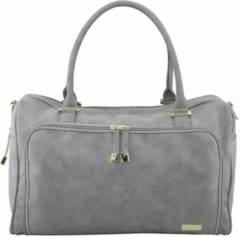 Isoki luiertas Double Zip Satchel Stone Grey luiertas Double Zip Satchel Stone Grey