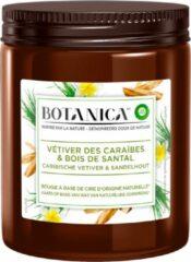 Bruine Botanica by Air Wick Air Wick Geurkaars Botanica Caribbean Vetiver & Sandalwood