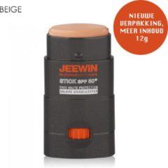 JEEWIN Technical Sportscare JEEWIN Sunblock Stick SPF 50 - BEIGE | ook geschikt voor bescherming tattoo