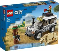 Grijze LEGO City Safari off-roader - 60267