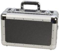 Zwarte Bilora Aluminium koffer luxe (40 x 28 x 19 cm)