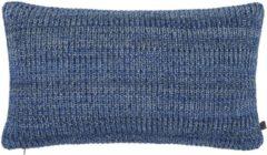Blauwe Marc O'Polo sierkussen Kuara blue 30x50