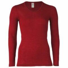 Engel - Women's Unterhemd L/S - Merino-ondergoed maat 46/48, rood