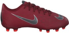 Fußballschuhe Jr Mercurial Vapor XII Academy MG AH7347-810 mit Nocken-Sohle Nike Team Red/Mtlc Dk Grey-Bright Crmsn