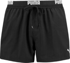 Puma - Men Swim Logo Short - Zwart - Heren - maat S