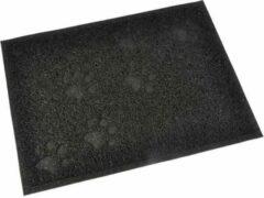Anders Rechthoekige kattenbakvulling - 30x40 cm - Zwart - voor kittens