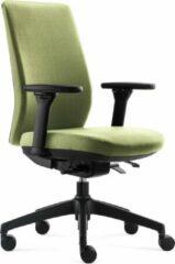 BenS 918-Synchro-4 groen Luxe ergonomische bureaustoel Arbo Stoffen bekleding Volledig instelbaar