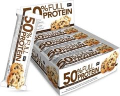 QNT Sports Nutrition QNT 50% Full Protein Bar - 12 repen - Chocolate Cookie