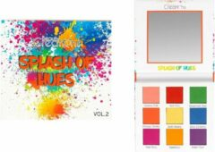 Paarse Beauty Creations Splash Of Hues Vol 2 Eyeshadow - EBL9D