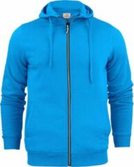 Printer Essentials Printer hooded sweat jacket Overhead man - 2262051 - Oceaanblauw - maat XL
