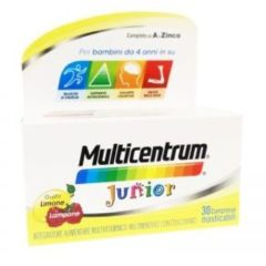 Multicentrum Junior 30 Integratore Vitamine Bambini Compresse Masticabili