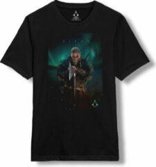 Zwarte Assassin's Creed Valhalla - Eivor T-Shirt S