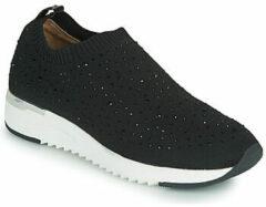Caprice Kaiafly sneakers met strass steentjes zwart